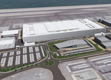 HIA Midfield Cargo Terminal CT02