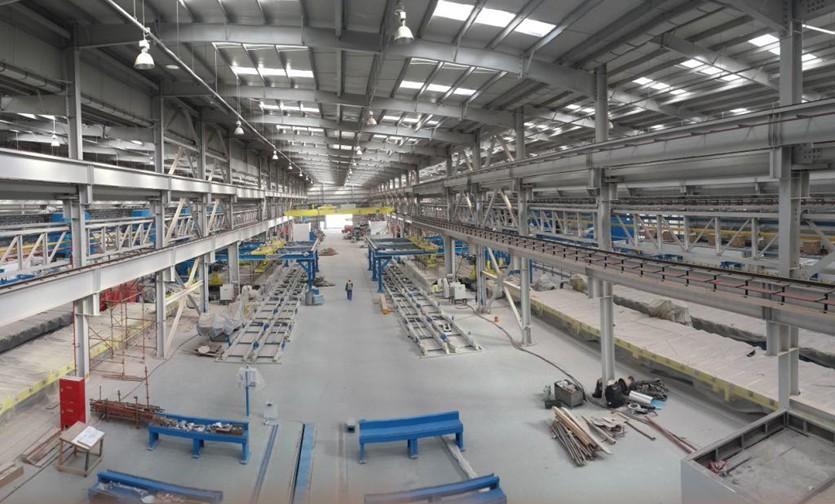 TALEX Aluminum Extrusion plant